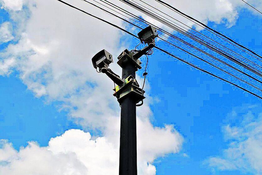 Os radares estão instalados na BR-316, do quilômetro 10 ao 16