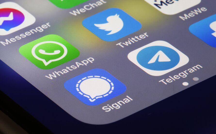O Telegram e o Signal, por exemplo, viram os seus números de downloads crescerem em 900%.