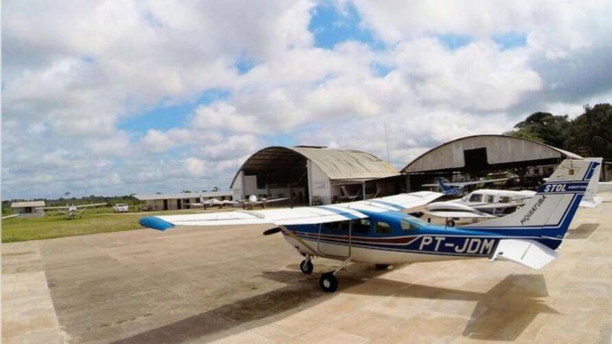 Empresa oferece R$ 50 mil para quem tiver informações do paradeiro da aeronave modelo Cessna U206F Stationair, prefixo PTJDM