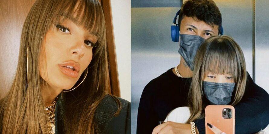 Imagem ilustrativa da notícia: Thaís Braz assume namoro com cantor Xamã