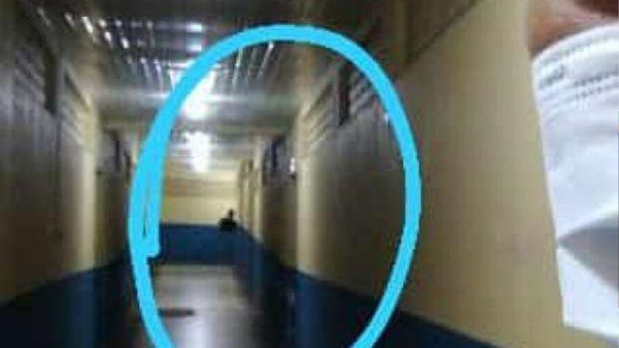 Imagem ilustrativa da notícia: Fantasma aparece em selfie de enfermeira em hospital no Pará