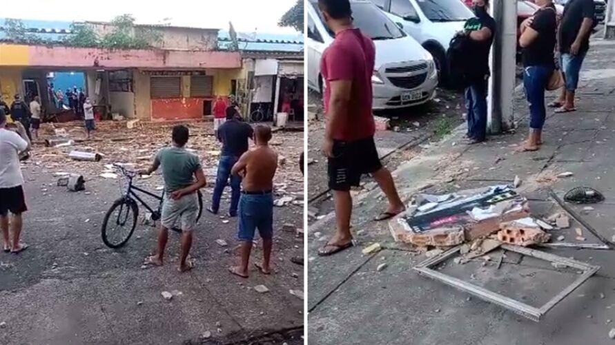Imagem ilustrativa da notícia: Botijão de gás explode e deixa feridos em Belém; assista!
