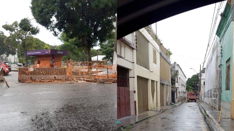 Imagem ilustrativa da notícia: Rua na Campina é interditada para obra de emergência