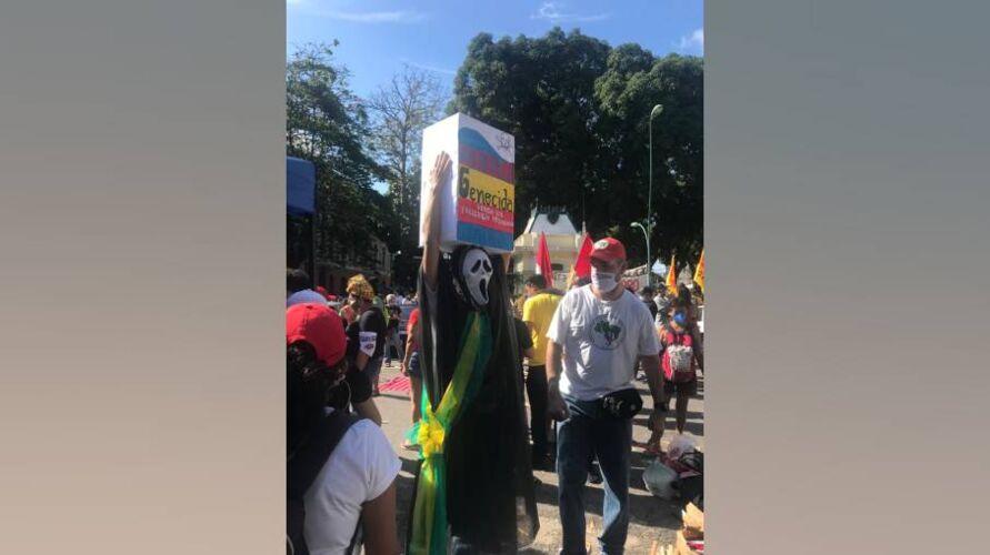 Imagem ilustrativa da notícia: Manifestação contra Bolsonaro chega em São Brás