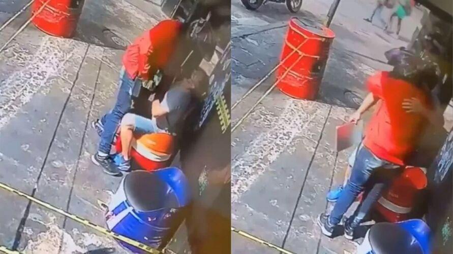 Imagem ilustrativa da notícia: Ladrão reconhece vítima e desiste do crime após abraçá-la