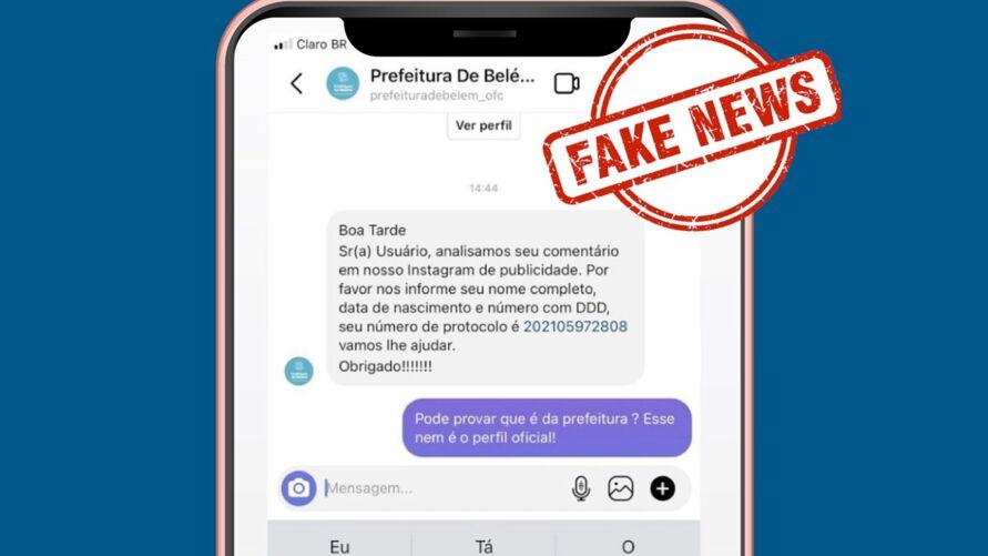 Imagem ilustrativa da notícia: Prefeitura alerta sobre novo golpe digital em Belém. Veja