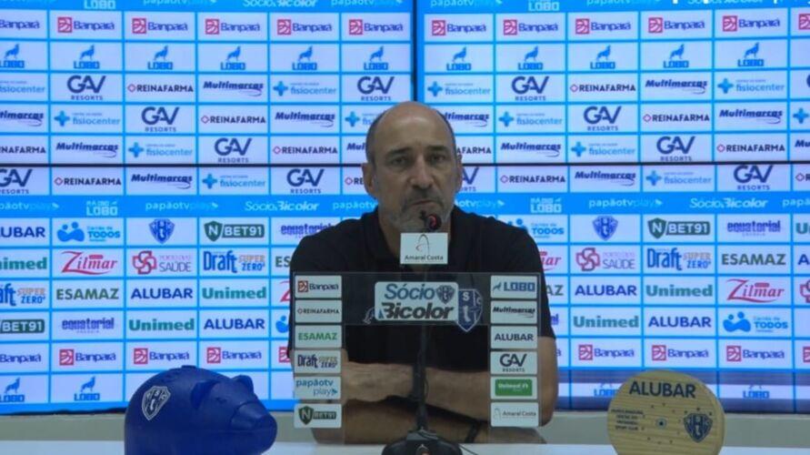 Papão apresentou partida bem abaixo do esperado e foi derrotado por Botafogo-PB na Curuzu.