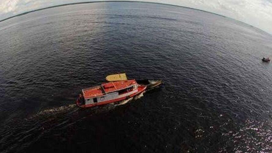 Bando agia entre as ilhas de Igarapé-Miri e Cametá