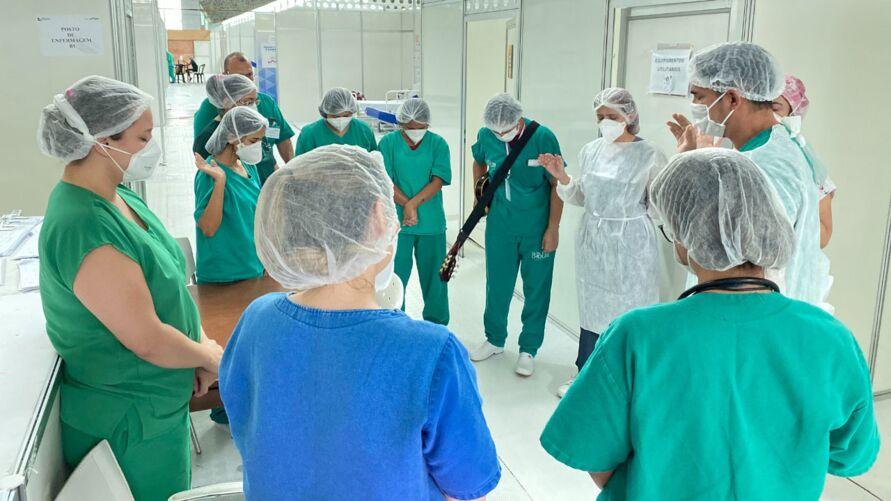 Musicoterapia auxilia no tratamento dos pacientes,.