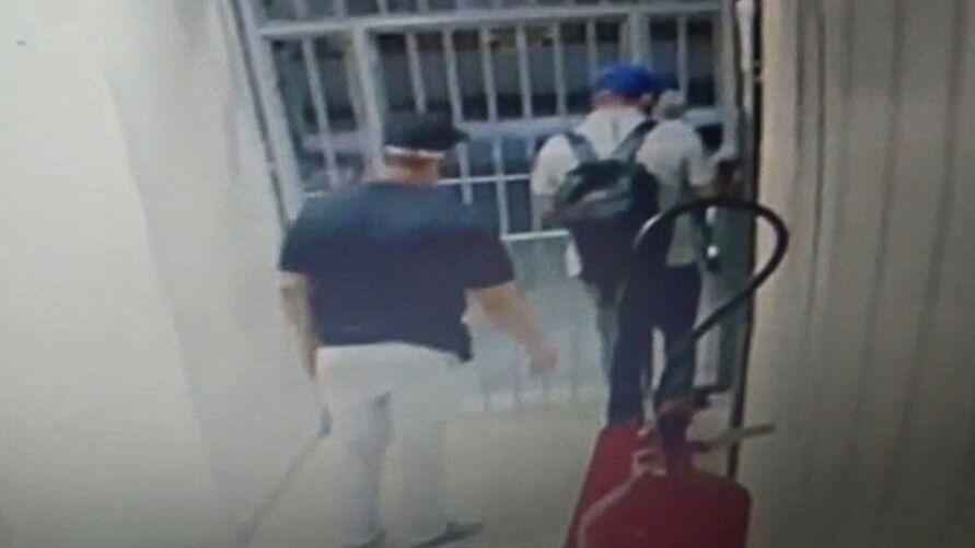 Assaltantes aproveitaram de um descuido da segurança
