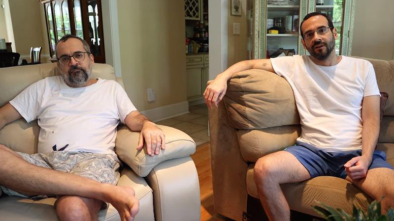O ex-ministro da Educação Abraham Weintraub e o seu irmão, o ex-assessor especial da Presidência Arthur Weintraub
