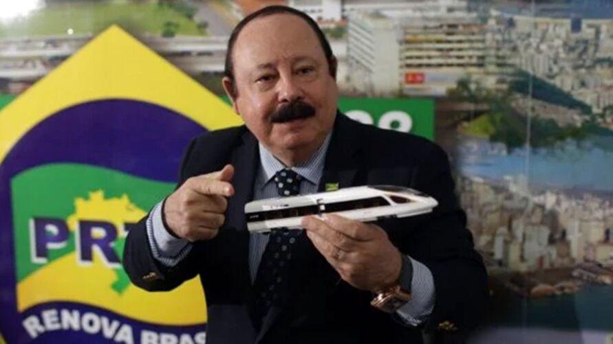 """Imagem ilustrativa da notícia: Levy Fidelix, """"o homem do aerotrem"""", morre em São Paulo"""