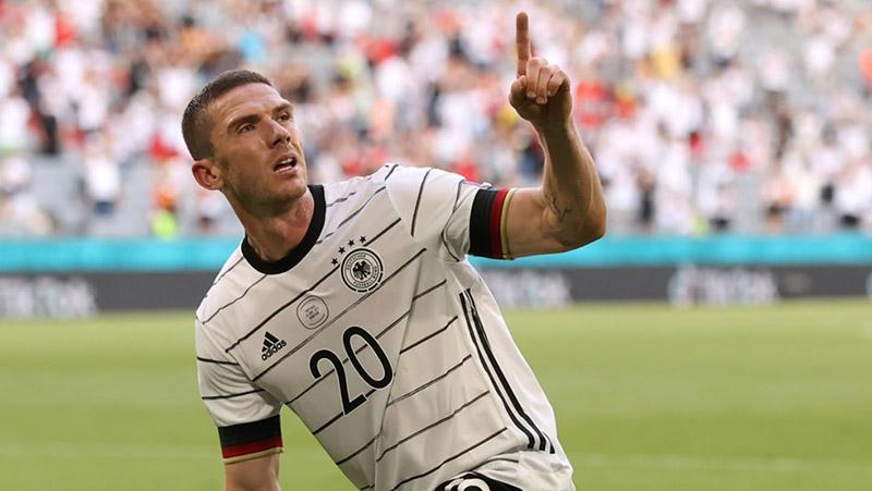 Só deu Alemanha na partida deste sábado