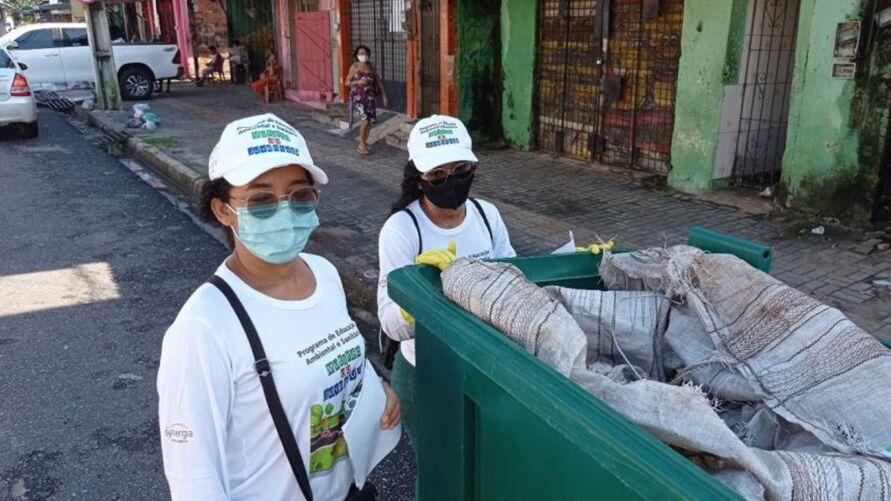 Maior parte dos resíduos eram papéis com grande valor de venda
