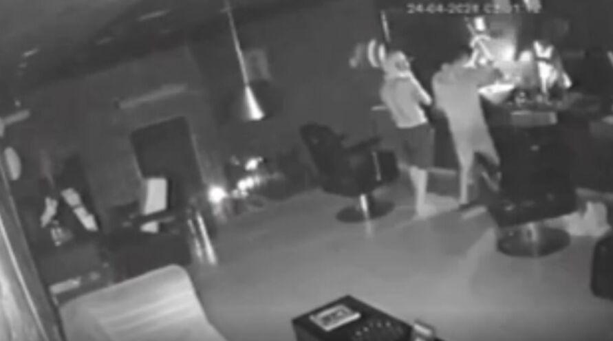 Câmeras registraram o crime no estabelecimento do bairro do Jurunas