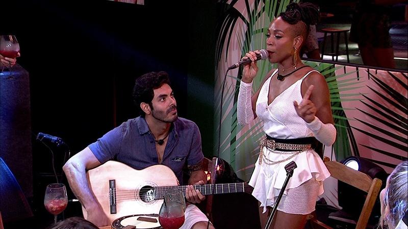 Rodolffo e Karol Conká farão shows como os companheiros de confinamento Pocah e Projota