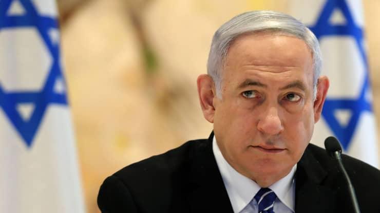 O político Benjamin Netanyahu.
