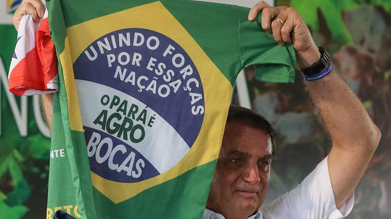 Bolsonaro disse que a entrega dos títulos fundiários afasta o risco de ações do MST