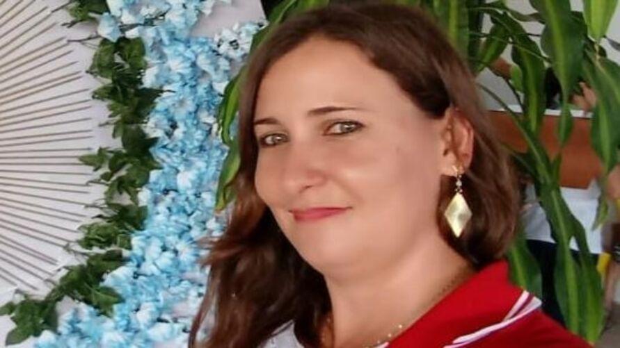 Franciele Bergamin estava em sua casa quando sentiu que tinha sido ferida pelo réptil.