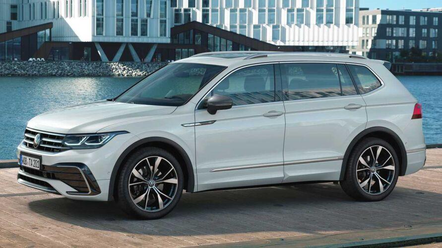 Nova SUV Tiguan Allspace 2022