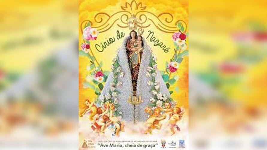 Cartaz do Círio 2021 será apresentado por transmissão da Basílica Santuário.