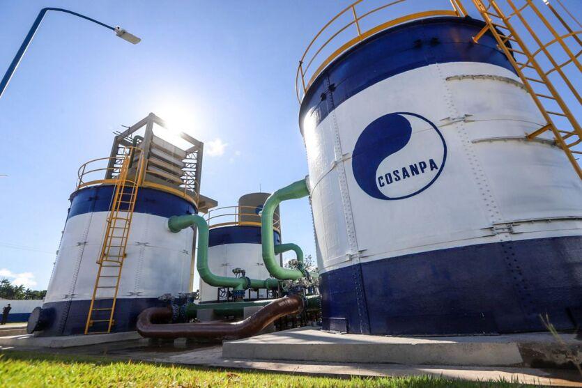 Centro de abastecimento da Companhia de Saneamento do Pará (Cosanpa)