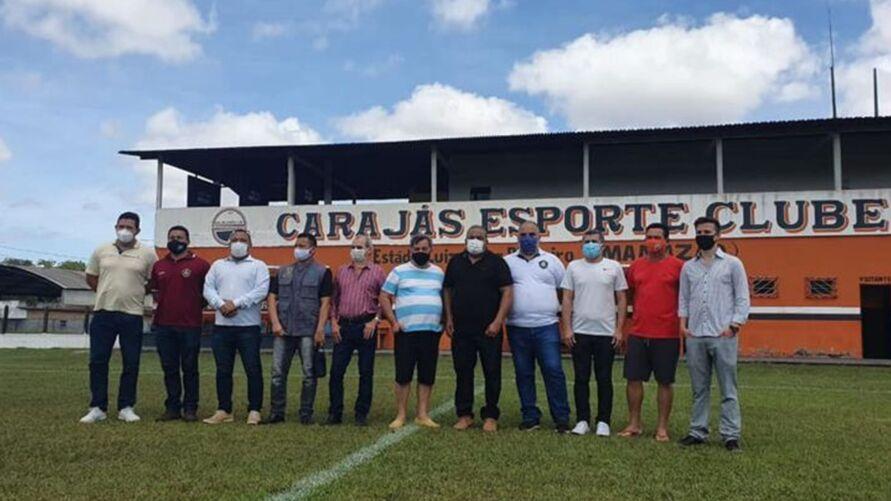Dirigentes de Remo e Carajás já haviam se reunido no complexo do Mamazão, em abril deste ano.