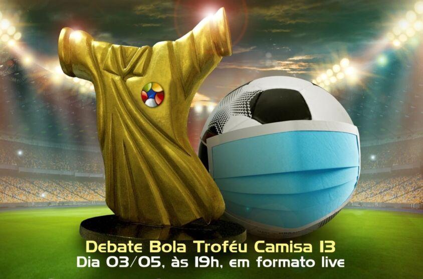 """Imagem ilustrativa da notícia: Assista aqui ao """"Debate Bola"""" sobre o esporte na pandemia"""