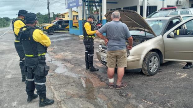 O motorista foi apresentado às autoridades judiciárias na delegacia de Polícia de Salinópolis para os procedimentos penais.