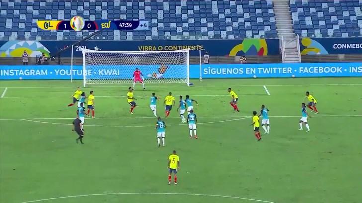 Imagem ilustrativa da notícia: Colômbia vence o Equador por 1 x 0 na Copa América