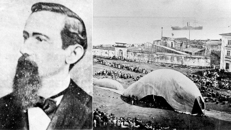 Julio Cezar Ribeiro de Souza escreveu o nome do Pará na história da aviação ao se tornar o precursor dos dirigíveis, ainda que o reconhecimento tenha vindo de forma tardia. Neste dia 13, completam-se 178 anos do seu nascimento