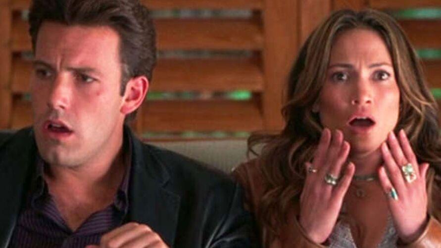 Ben e Jen namoraram pela primeira vez em 2002