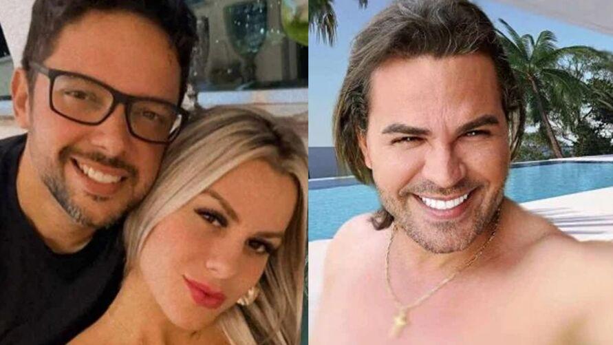 Eduardo Costa se pronunciou sobre o relacionamento com Mariana Polastreli, que segundo o ex-marido, teria abandonado ele e os três filhos para ficar com o cantor.