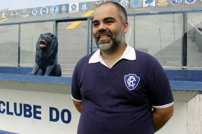 Presidente do Clube do Remo, Fabio Bentes.