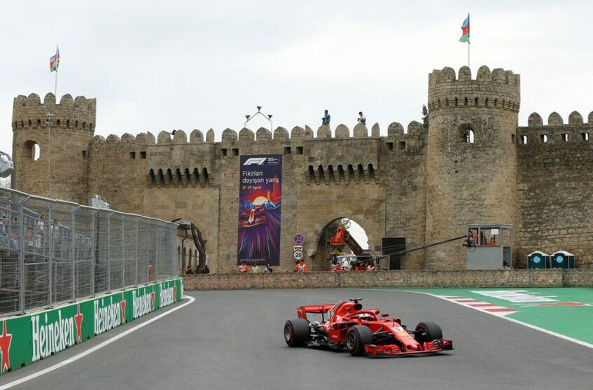 Imagem ilustrativa da notícia: Fórmula 1: assista ao GP do Azerbaijão ao vivo aqui no DOL!