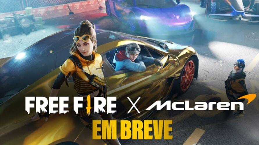 Imagem ilustrativa da notícia: Garena anuncia parceria entre Free Fire e McLaren Racing