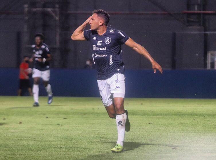 Atacante Renan Gorne espera fazer gols pelo Clube do Remo diante do Botafogo.