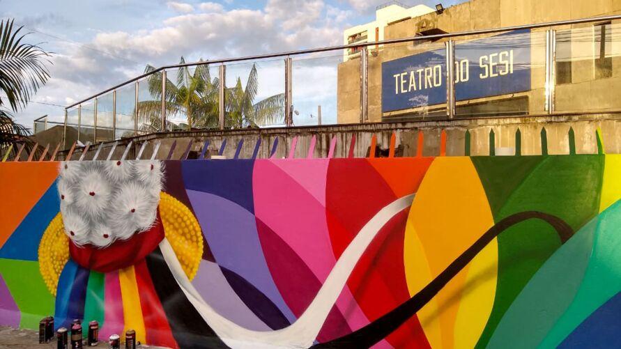 Imagem ilustrativa da notícia: Grafite traz nova identidade a cenário urbano da cidade