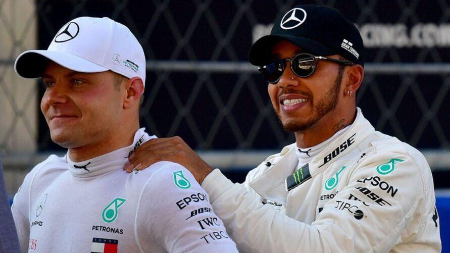 Imagem ilustrativa da notícia: Hamilton reclama de suposta troca e defende Bottas