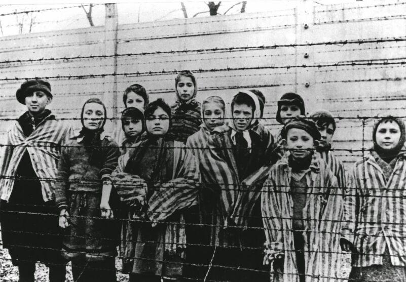 Holocausto foi o assassinato em massa de cerca de seis milhões de judeus.