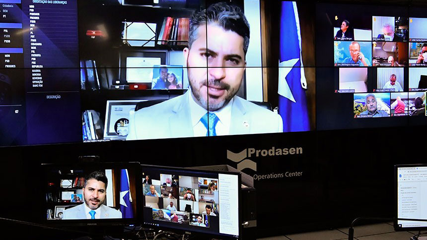 Senador Marcos Rogério (DEM-RO)´é responsável pelo relatório que trata a medida provisória da privatização da Eletrobras