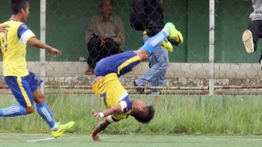 Um jogador indiano errou uma cambalhota, quebrou o pescoço e acabou morrendo. Veja estes e outros tristes casos!
