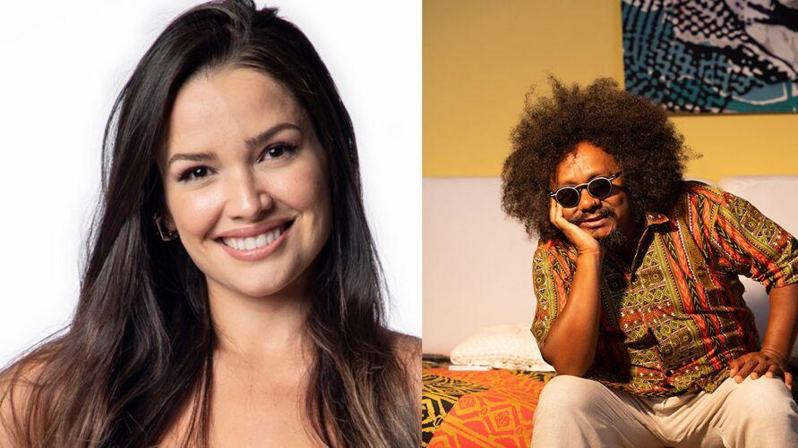 Juliette confirmou parceria com cantor Chico César