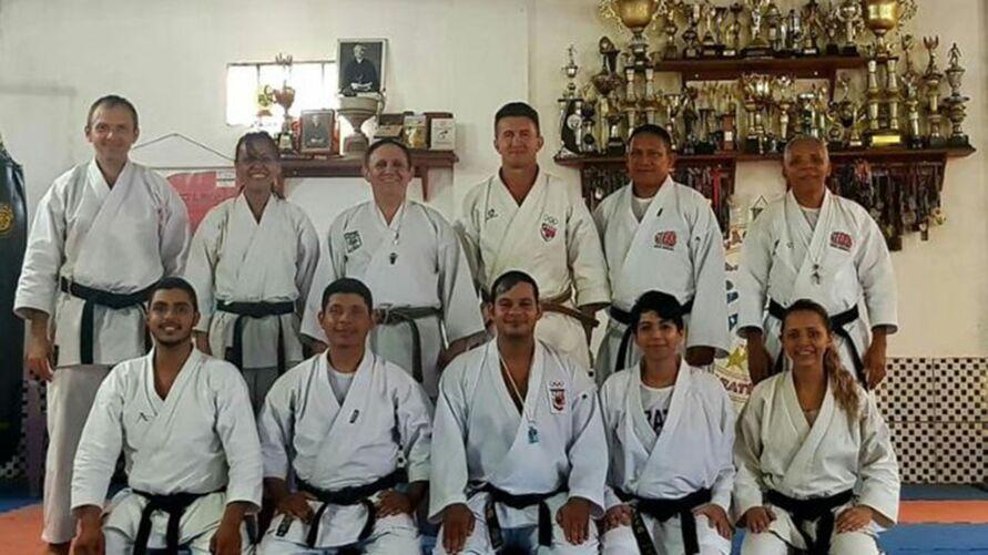 Karatê realiza 1ª etapa com atletas do Pará e outros estados