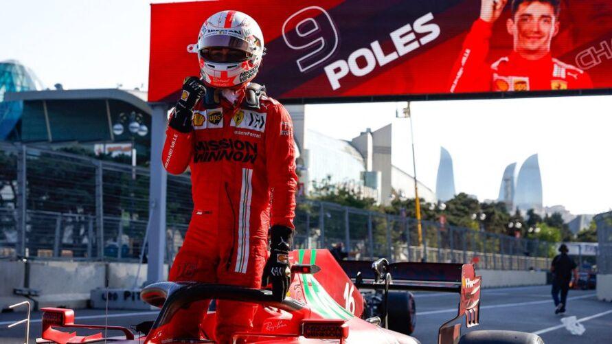 Imagem ilustrativa da notícia: Charles Leclerc faz segunda pole consecutiva na Fórmula 1