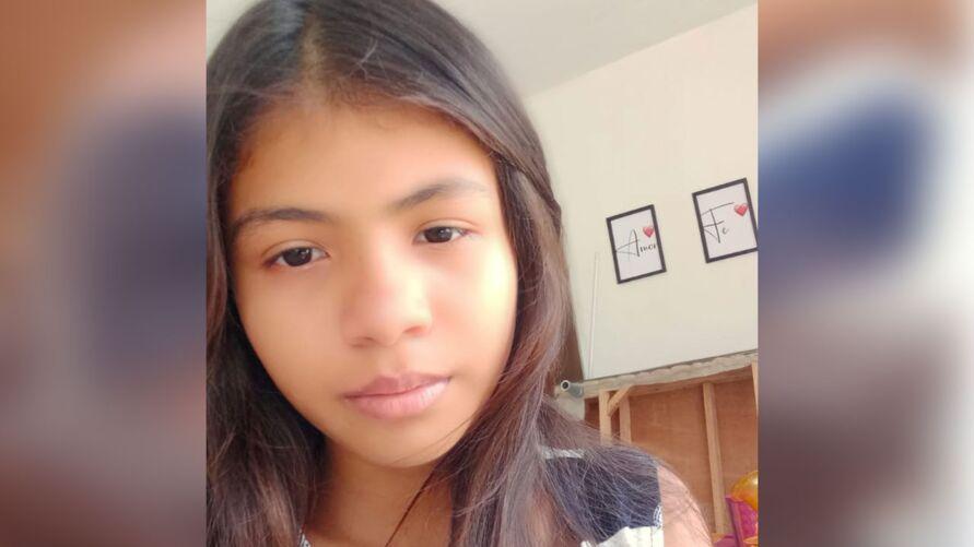 Ravyla de Sousa, de 10 anos, está desaparecida desde a última segunda-feira (21).