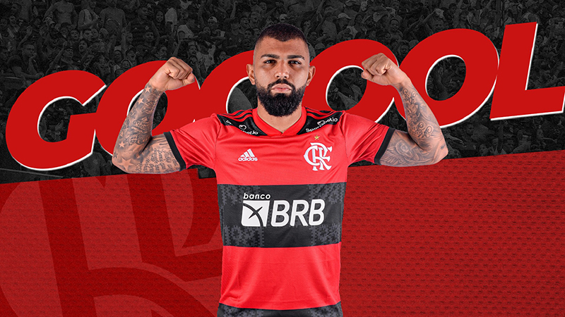 Gabigol se tornou o maior goleador da história do Flamengo na competição