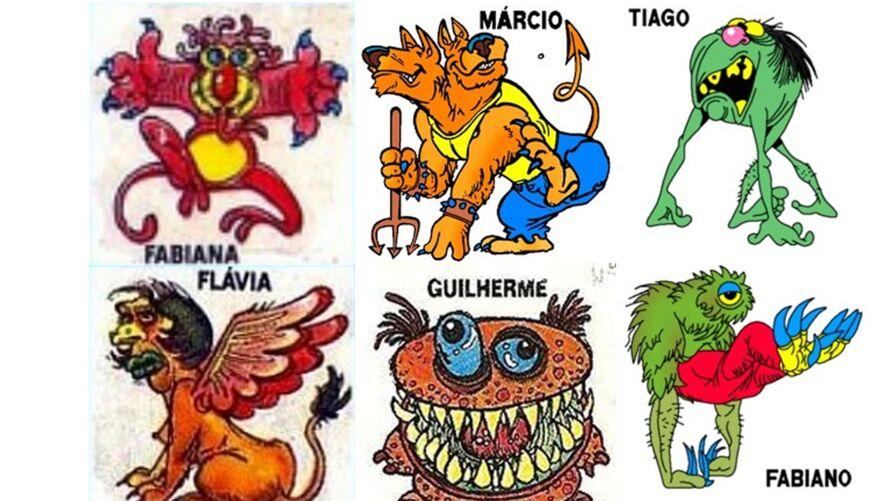 Nomes comuns em figuras bem bizarras. Assim eram as Ploc Monsters