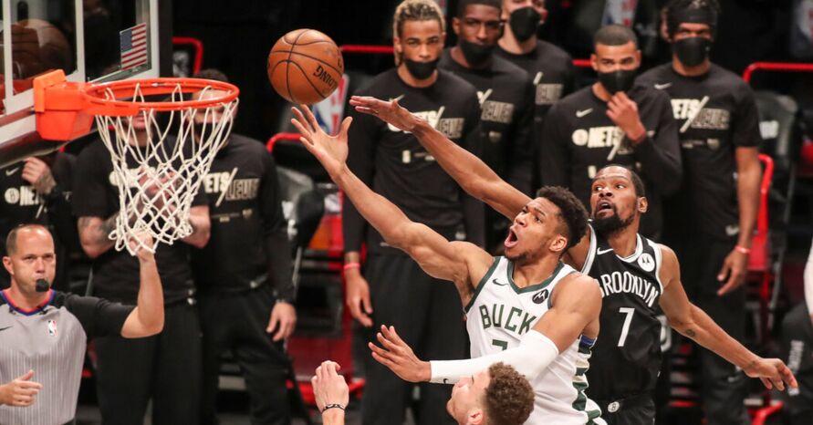 Imagem ilustrativa da notícia: NBA: Durant bate recorde de pontos, mas Brooklyn é eliminado