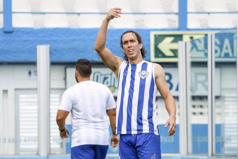 Nicolas vai ter mais uma chance para encerrar jejum de gols.